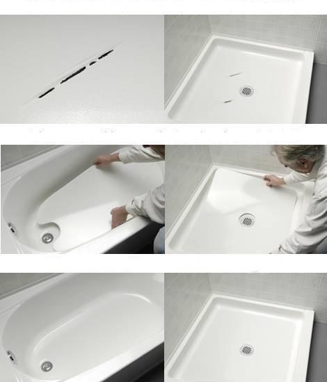 Bathtub And Shower Crack Repair